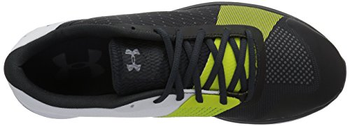 Under Armour Showstopper - Chaussures de Course Hommes - Noir/Gris ANTHRACITE / WHITE / ANTHRACITE