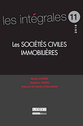 Les société civiles immobilières