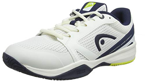 Head Sprint 2.5 Junior, Scarpe da Tennis Unisex-Bambini, Bianco (White/Dark Blue Whdb), 36 EU