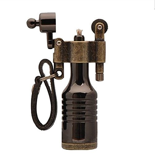 ezyoutdoor-antique-lighter-wheel-wizard-style-jet-torch-kerosene-for-camping-bivouac-hiking-survival