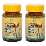 Aloe Vera 500 mg 60 tabletas. Pack de 2