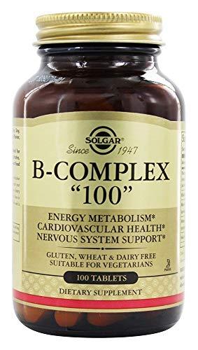 Solgar - B-Complex '100' Tablets - 100 comprimés