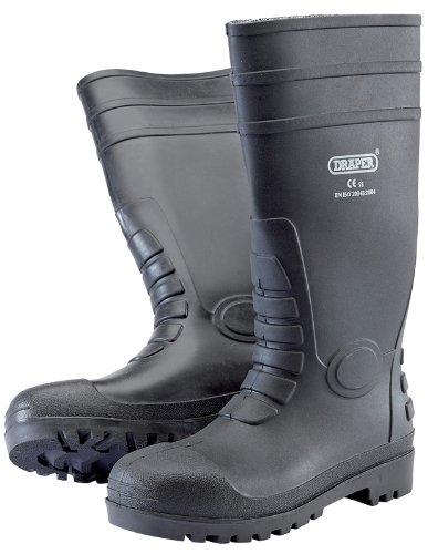 Draper 02698 - Stivali di sicurezza, standard S5, misura 8/42