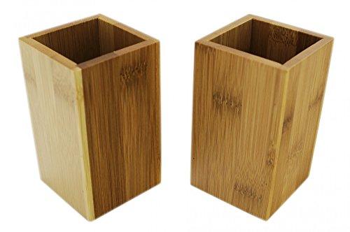 Bambus Zahnbürstenhalter - 2er Set