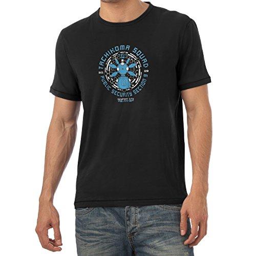 TEXLAB - Tachikoma Squad - Herren T-Shirt, Größe L, (Kostüme Blue Spartan)