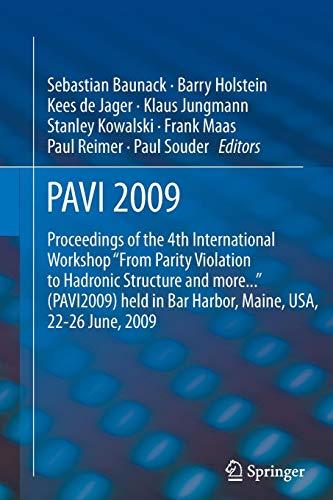 PAVI09: Proceedings of the 4th International Workshop