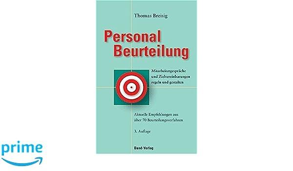 Personalbeurteilung: Mitarbeitergespräche und Zeilvereinbarungen ...