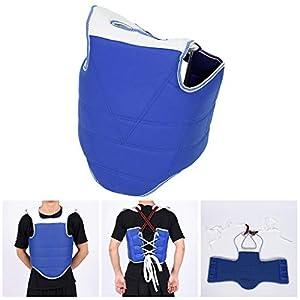 Fansport Brustschutz Verstellbarer Brustschutz Body Protector für Taekwondo