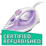 (CERTIFIED REFURBISHED) Philips EasySpeed GC1026/30 2000-Watt Soleplate Steam Iron (Purple)