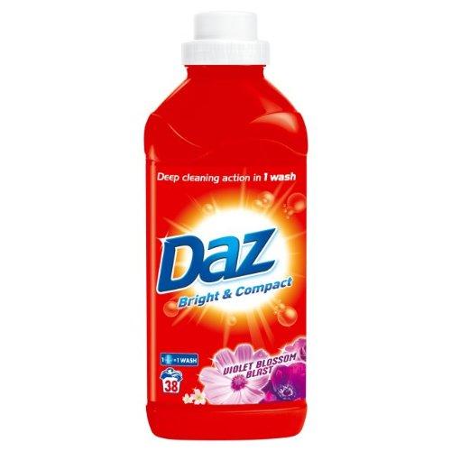 Daz Violet Blossom Explosion Flüssig 38 Wäschen 2x1.9L (Waschen Violet)
