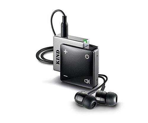 Premium Hörverstärker von KIND, schwarz - Sofort und einfach besser Hören