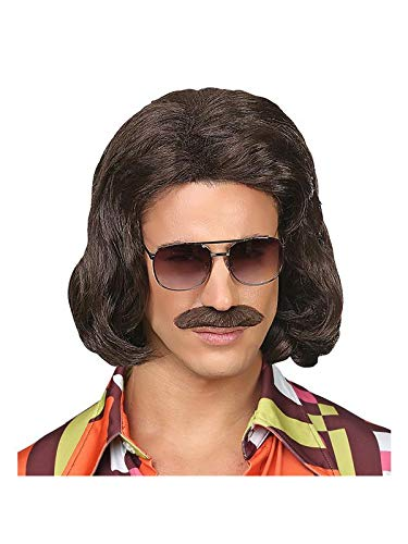 ke 70er Jahre mit Schnurrbart, Braun ()