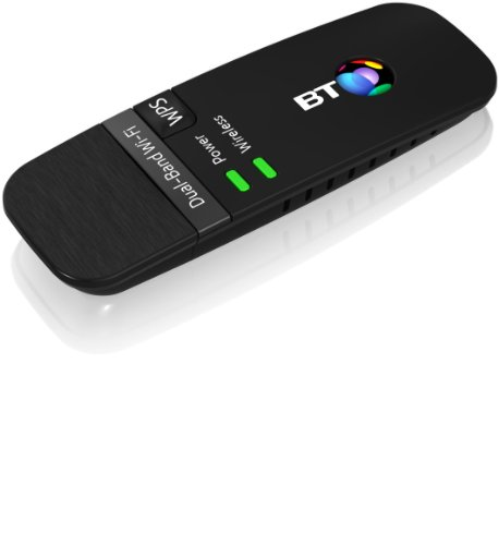 Image of BT 600 Dual-Band Wi-Fi USB Dongle - Black