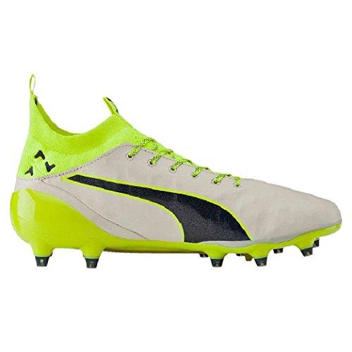 Chaussures evoTOUCH PRO FG Special Edition weiß / blau / gelb