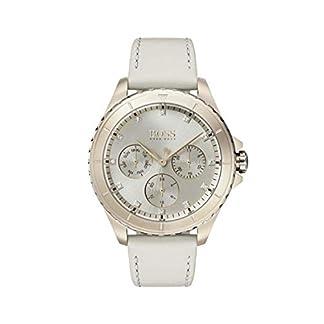 Hugo Boss Watch Reloj Multiesfera para Mujer de Cuarzo con Correa en Cuero 1502447
