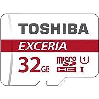 Toshiba EXCERIA M302-EA Micro SDHC 32GB UHS-I Klasse 10 Speicherkarte (bis zu 90MB/s lesen)