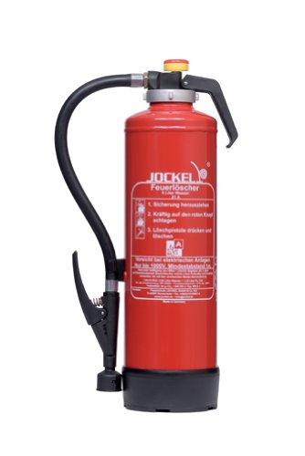 Preisvergleich Produktbild Jockel Feuerloescher WN6J Auflade-Feuerloescher Edition Classic, 6 l Wasser