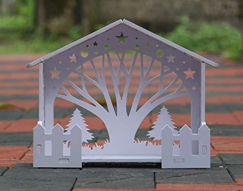 Brahma Crafts Wooden Christmas Crib Set (35 cm*20 cm*30 cm)...