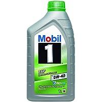 Mobil 1 FS 0W40 154146 Motorenöl Synthetic, Gold, 1L