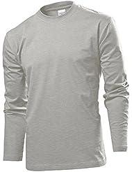 Langarm T-shirt Shirt von Stedman S M L XL XXL XXL verschiedene Farben