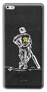 Mott2 Back Case for Micromax Canvas Sliver 5 Q450 | Micromax Canvas Sliver 5 Q450Back Cover | Micromax Canvas Sliver 5 Q450 Back Case - Printed Designer Hard Plastic Case - Sachin Tendulkar theme
