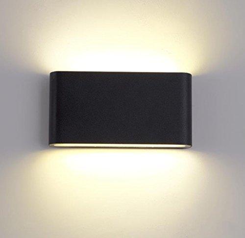 Lampada da parete lampada da lettura da parete a led per esterni lampada da parete universale interna da parete e giù luce da parete impermeabile luminosa luce da parete laterale in moquette lampada
