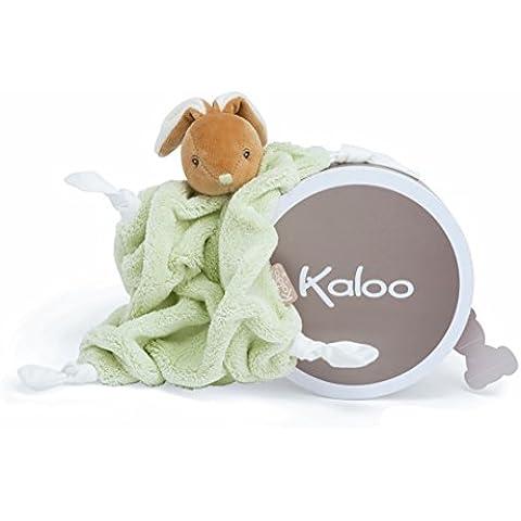 Kaloo - Plume Doudou conejo, color verde (1099695513)