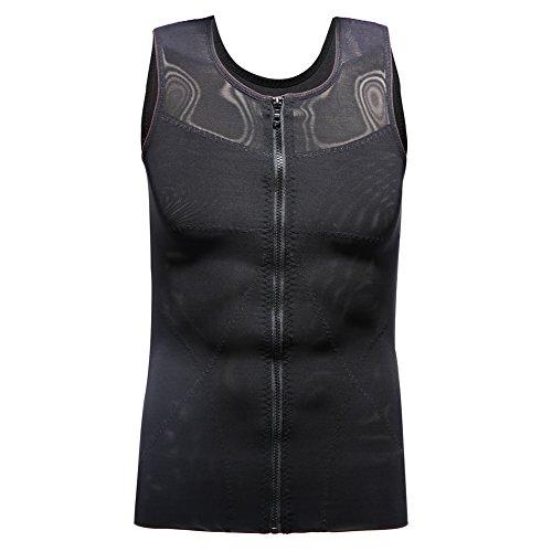c6cfebfbbe614 Derssity Men Vest Slimming Body Shaper Tummy Control Compression Undershirt