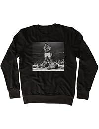 Muhammad Ali Poster Drôle, Sympa, Cadeau, Concepteur, Sweatshirt Unisexe