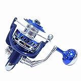 ZFF Carretes De Pesca De Lanzado Peso Ultraligero Suave Poderosa Carrete De Pesca Spinning Jigging Feeder Izquierda/Derecha Intercambiable (Tamaño : 7000)