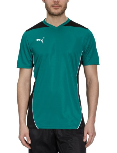 PUMA Herren T-Shirt Foundation Training Tee Team Green/black