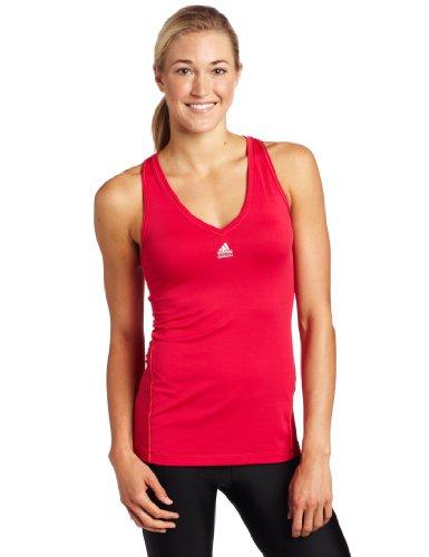 Adidas Damen TechFit Tank, damen, Sharp Red Preisvergleich