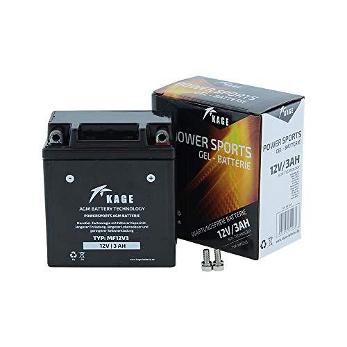 Batterie GEL KAGE YB3L-A YB3L-B -
