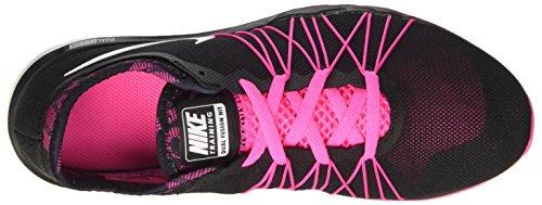 Nike W Dual Fusion Tr Hit Prnt, Zapatos De Senderismo Para Mujer Negro (negro (explosión Negro / Blanco-rosa))