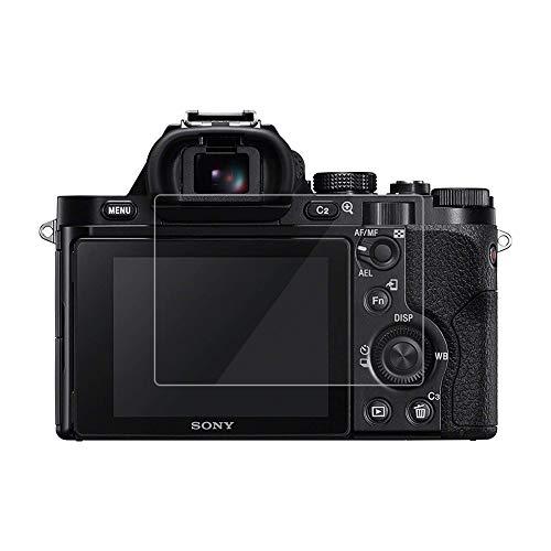 kinokoo Film de Verre trempé pour Sony A7/A7R/A7S Film de Protection d'écran Crystal Clear Sony A7 A7R A7S sans Bulles/Anti-Rayures (Paquet de 2)