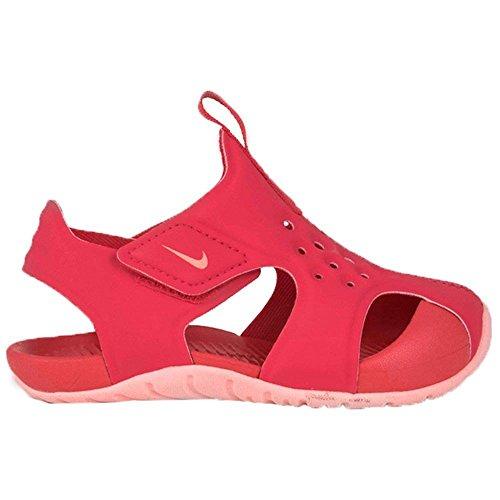 Nike Unisex-Kinder Sunray Protect 2 (td) Sport Sandalen, Mehrfarbig (Tropical Pink/Bleach 600), 25 EU 2 Sport-sandalen