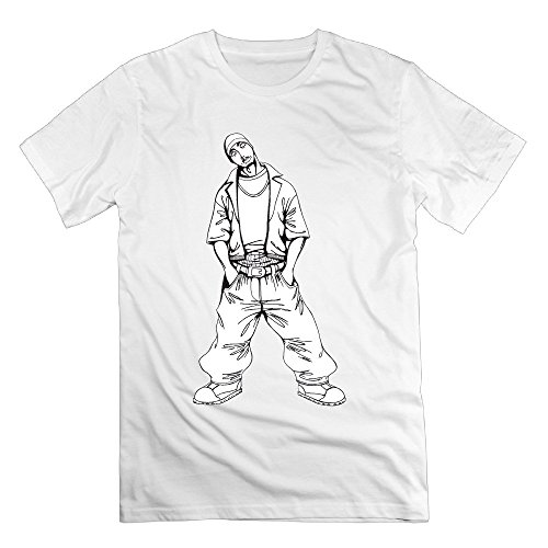 xj-cool-rap-king-2-bac-sketch-herren-fashion-t-shirt-deepheather-gr-s-weiss