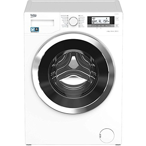 Beko EcoSmart WY124854MW 12Kg 1400 Spin Washing Machine in White