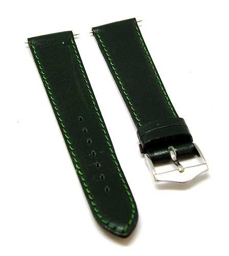 bracelet-de-montre-fortis-cuir-avec-coutures-vertes-vert-18-mm-neuf-8509