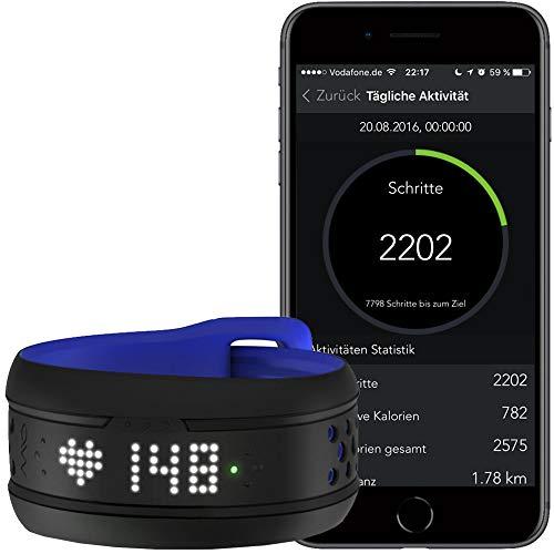 MIO Fuse Tracker d'Activité, Podometre, Cardiofréquencemètre, Bracelet  Sport Podomètre Calorie pour Enfants Femmes Hommes con Smartphone App -