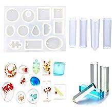 Smallones 16 Diseño Molde de Joyas Silicona para Resina Epoxy Haciendo