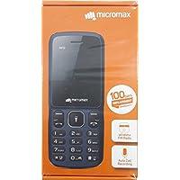 Micromax X412 (Black + Grey)