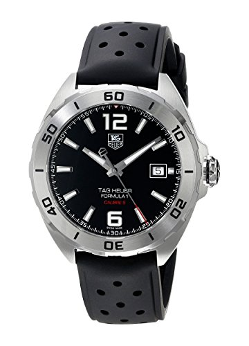 TAG Heuer Herren-Armbanduhr Analog Automatik Kautschuk WAZ2113.FT8023