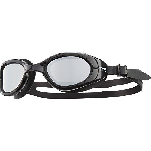 TYR Erwachsene Schwimmbrillen Special Ops 2.0 Schwarz, One Size