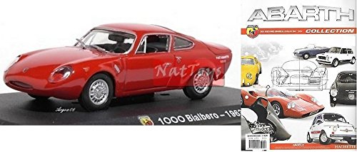 EDICOLA Hachette Abarth Collection 1000 Bialbero 1963 Modellino DIE CAST 1:43 +fas kompatibel mit -
