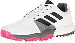 adidas Mens Adipower Boost 3 WD Ftwwh Golf Shoe, White, 7 4E US