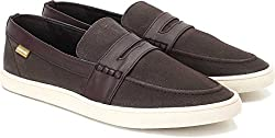 U.S. Polo Assn. Mens Black Loafers and Mocassins - 6 UK