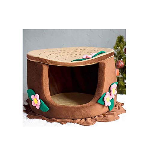 QNMM Fashion Pet House Y Sofa Tree Root Design Dog House Bed...