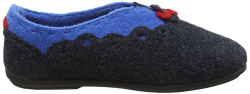 Padders Hannah, Pantofole Donna Blu (96 Navy/Combi)