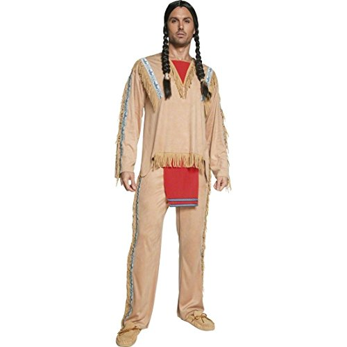 Imagen de traje de indio apache disfraz jefe tribu vestuario